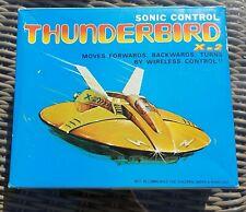 Vintage Logitech Sonic Control Thunderbird X-2 Space Toy Rocket ship Spaceship