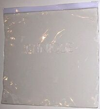 Clinique Clear Resealable Zip Lock Storage (Make-Up/Cosmetic) Bag. Vinyl Durable