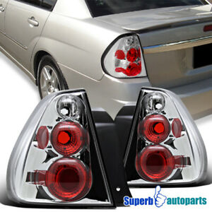 For 2004-2007 Chevy Malibu Replacement Tail Lights Brake Lamps