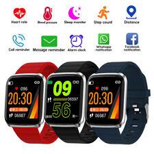 Bluetooth Smartwatch Armbanduhr Fitness Tracker Herzfrequenzmessung Wasserdicht