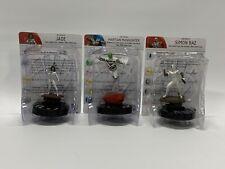 Heroclix DC Martian Manhunter #D16-001 Jade #D16-002 Simon Baz #D16-003 W/Cards