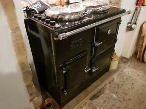 Esse EL 13 Amp Electric Range Cooker Black Used with 3 month warranty