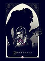 Giclée Print Movie Poster 1922 Nosferatu Starring Max Schreck