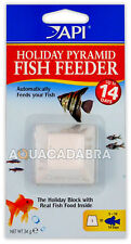 API 14 Day Holiday Fish Feeder Pyramid Vacation 2 Week Food Block Tank Aquarium