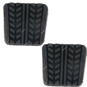 2Pcs  Rubber Brake & Clutch Pedal Pad For Mazda RX-7 323 929 B-Series MPV MX-3/6