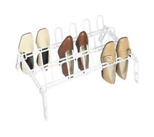 Whitmor  22-1/2 in. W x 16 in. L x 9-1/4 in. H Metal  Floor Shoe Rack