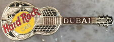 Hard Rock Cafe DUBAI 1997 National Tri-Plate Model 35 Guitar PIN - HRC #2344