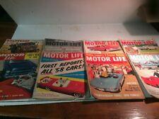 Motor Life Magazine - Lot Of 8 - 1957, 1960, 1961