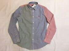 NEW WITH TAGS WOMEN'S RALPH LAUREN CUSTOM FIT CASUAL SHIRTS-MULTI STRIPES