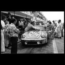 Photo A.012868 PORSCHE 911 CARRERA RSR TOUROUL-CACHA-RUA 24 HEURES LE MANS 1974
