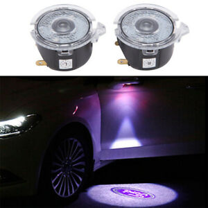 Ghost Shadow LED Side Rear View Mirror Puddle Lights For Ford F150/Explorer/Edge