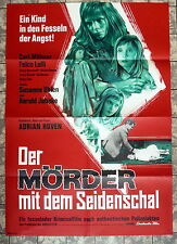 MÖRDER MIT DEM SEIDENSCHAL * A1-Filmposter - German 1-Sheet -1966 KRIMI