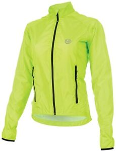 CANARI Women's Breezer Shell Jacket Killer Yellow MEDIUM + FREE HEADBAND