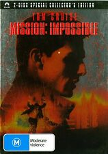 MISSION IMPOSSIBLE (2-Disc Special Collector's Edition) Tom Cruise Region 4 DVD