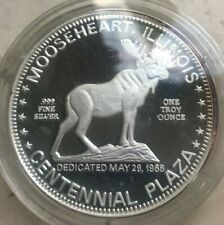 Mooseheart, Illinois 1 Oz .999 Silver Round - Loyal Order of Moose