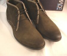 "MADE CAM NEWTON ""Cary 021""  Solid Suede Leather Chukka Boots Mens Sz 14 D Gray"