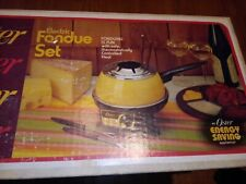 Vintage Oster Electric Fondue Set Model 681 Flame new nib