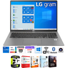 """LG gram 17"""" WQXGA 11th Gen Intel i7-1165G7 16GB/1TB SSD Laptop + Warranty Pack"""