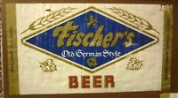 OLD USA BEER LABEL, FISCHER BREWING Co AUBURNDALE FLORIDA, FISHERS BEER