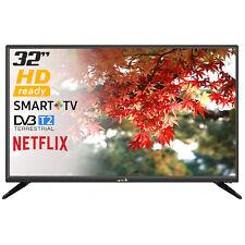 "SMART TV LED ARIELLI LED 32"" POLLICI HD READY 720p INTERNET TV WI-FI NETFLIX"