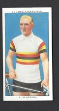 OGDENS - CHAMPIONS OF 1936 - #18 J SCHERENS, CYCLING