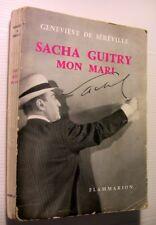 1959 SACHA GUITRY MON MARI DE SEREVILLE LIVRE ILLUSTRE HUMOUR INTIMITE BOOK
