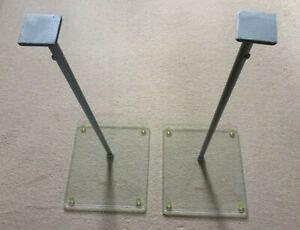 OmniMount Surround Sound Speaker Stands Adjustable Height