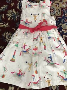 Mini Boden Circus Dress. Age 7-8. With Net Underskirt