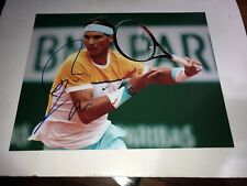 rafael nadal signed 11x14 photo (WITH PROOF)