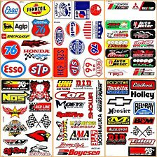 Motorsport Cars Nos Off-road NHRA Drag Racing D6054 Lot 6 Graphic Vinyl Decals