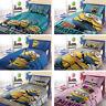 Minions Enfants Linge de lit réversible pour bébé