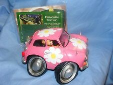 Car Couture Collectable Car Figure Flower Power Classic Car Figure Present New