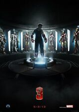 Iron Man 3 - A4 Glossy Poster - Film Movie Free Shipping #952