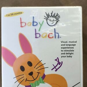 Baby Einstein Baby Bach 2002 DVD 172 Minutes SEALED