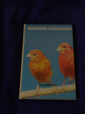 SINGING CANARIES BY KLAUS SPEICHER 1981 T.F.H. PUBLICATIONS HARDCOVER USED