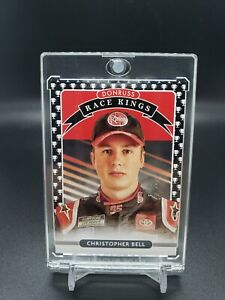 2021 Donruss Racing CHRISTOPHER BELL One of One 1/1 Black Trophy Club #8 Nascar