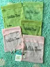 Matilda Jane Mesh Bags Spare Buttons Paint By Numbers Pink Green Vintage Lot