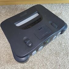 Nintendo 64 N64 Black Replacement Console ONLY fully Working UK PAL