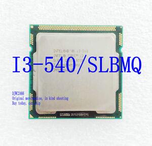Intel Core Duo i3-540 (SLBMQ) / 3.06GHz / 4MB /  1156 Desktop Processor