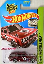 HOT WHEELS 2014 SUPER TREASURE HUNT 71 DATSUN BLUEBIRD 510 WAGON FACTORY SEALED