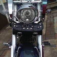 Motorrad Leder Werkzeug Rolle Satteltasche Yamaha XV Virago Midnight Star Drag