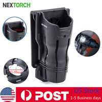 NEXTORCH 360°Tactical Flashlight Holster Pouch LED Angle Rotatable Duable Holder