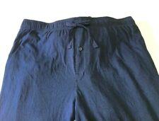 Men's Pajama Pants Goodfellow & Co Lounge Wear Size 4XB Big & Tall Navy Blue