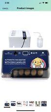 New listing Triocottage Egg Incubator For Quail, Chicken, Duck, Goose Eggs
