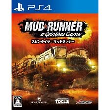 Oizumi Amuzio Spintires MudRunner SONY PS4 PLAYSTATION 4 JAPANESE VERSION