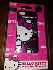 NEW Hello Kitty Polka Dot Iphone 5 Plastic Cell Phone Case