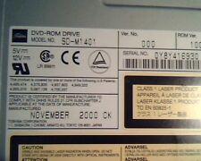 Toshiba  DVD-ROM Drive SD-M1401 000 Nov 2000 CK 1007 9876618100 DVD SCSI