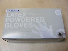 100 Boîte professionnel grand fort jetable LATEX AVEC POUDRE Gants en plastique