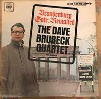Dave Brubeck Quartet LP Brandenburg Gate Revisited STEREO NM CBS SBPG 6213 '63