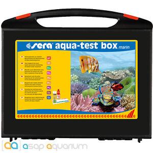 Sera Marin Aqua Test Box Multi Test Kit for Saltwater Marine and Reef Aquariums